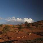 Sur la route vers Ouzoud, Maroc