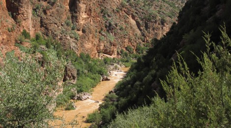 Reporter pour Géo Plein Air: rafting au Maroc, sur la Oued El Abib