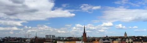Stockholm, Suède: ville d'eau et de ciel