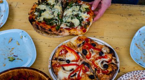 Fête du pain et de la pizza aux Granges!