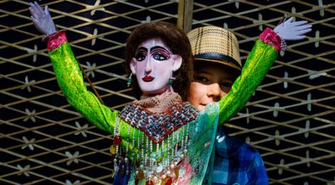 Festival international de marionnettes à Chiang Mai