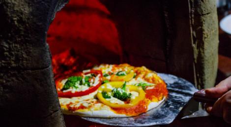 Pizza thaïe