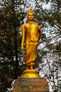 Le Bouddha était un éternel marcheur. Il exhortait les moines comme suit: «Allez, oh moines, pour le bien de tous, pour le bonheur de tous, avec compassion envers le monde, pour le bien et le bonheur des être humains et des dieux.»