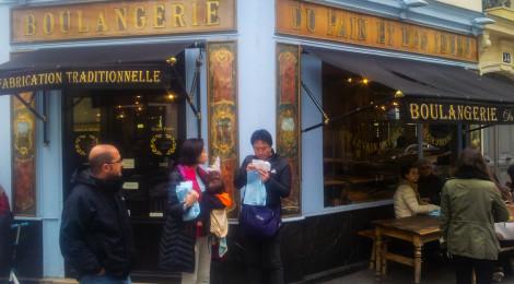 Paris: d'une boulangerie à l'autre